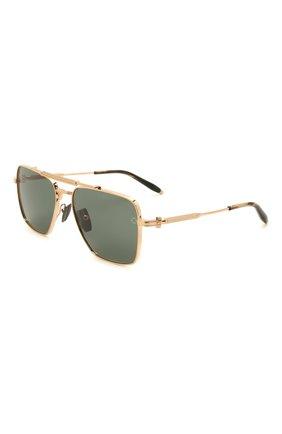 Мужские солнцезащитные очки AKONI золотого цвета, арт. AKS-201A | Фото 1