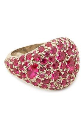 Женское кольцо darina LEVASHOVAELAGINA розового цвета, арт. le/r | Фото 1