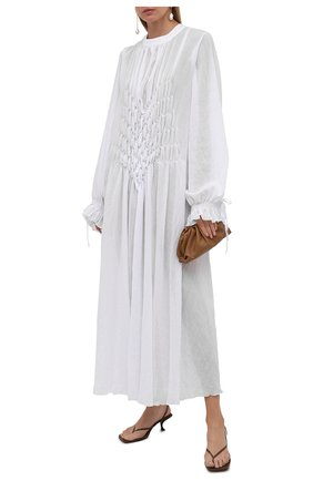 Женская хлопковая туника MASTERPEACE белого цвета, арт. MP-TN-WH-01   Фото 2