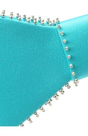 Женская бант PANFIL бирюзового цвета, арт. Бант 22-T2-TH | Фото 3 (Материал: Текстиль, Шелк)