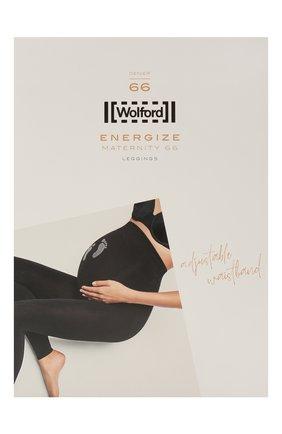 Женские леггинсы maternity 66 WOLFORD темно-серого цвета, арт. 14828   Фото 1