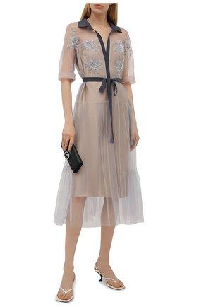 Женское платье TEGIN бежевого цвета, арт. SD2150 | Фото 2