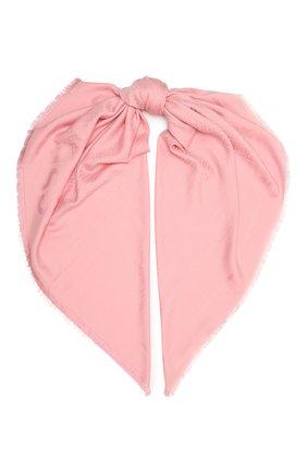 Женский платок BOSS светло-розового цвета, арт. 50448987 | Фото 1