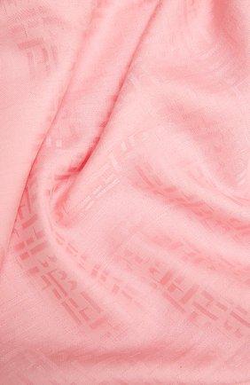 Женский платок BOSS светло-розового цвета, арт. 50448987 | Фото 2