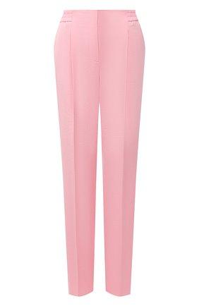 Женские брюки BOSS розового цвета, арт. 50456072 | Фото 1