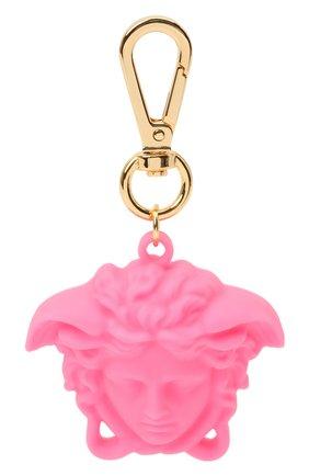 Женский брелок для ключей la medusa VERSACE розового цвета, арт. DPY8536/DPCME4 | Фото 1