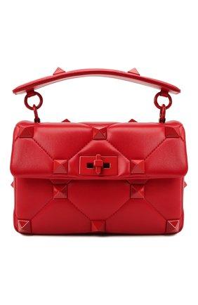 Женская сумка roman stud medium VALENTINO красного цвета, арт. WW2B0J23/FSM | Фото 1