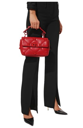 Женская сумка roman stud medium VALENTINO красного цвета, арт. WW2B0J23/FSM | Фото 2