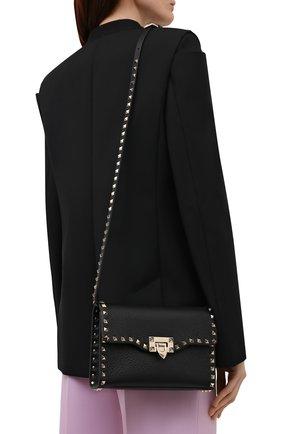 Женская сумка rockstud VALENTINO черного цвета, арт. WW2B0181/VSF | Фото 2