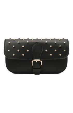 Женская сумка REDVALENTINO черного цвета, арт. WQ2P0B16/BDW   Фото 1