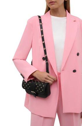 Женская сумка REDVALENTINO черного цвета, арт. WQ2P0B16/BDW   Фото 2