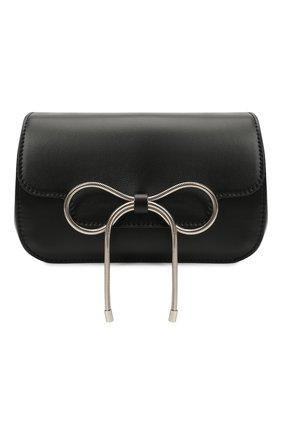 Женская сумка REDVALENTINO черного цвета, арт. WQ2B0C96/VFV   Фото 1