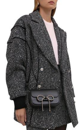 Женская сумка REDVALENTINO черного цвета, арт. WQ2B0C96/VFV   Фото 2