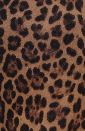 Женские шорты из шерсти и шелка VALENTINO леопардового цвета, арт. WB3RF1N76NA | Фото 5 (Женское Кросс-КТ: Шорты-одежда; Материал внешний: Шерсть, Шелк; Длина Ж (юбки, платья, шорты): Мини)