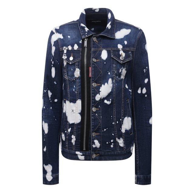 Джинсовая куртка Dsquared2 12072146