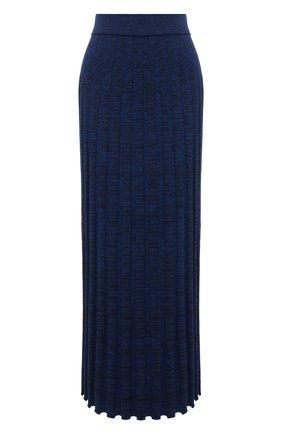 Женская юбка из вискозы JOSEPH синего цвета, арт. JF005361   Фото 1