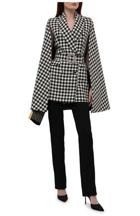 Женский шерстяной жакет GIUSEPPE DI MORABITO черно-белого цвета, арт. PF21037JA-145 | Фото 2