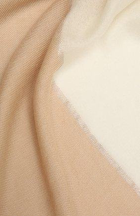 Женская шаль из кашемира и шелка LORO PIANA светло-бежевого цвета, арт. FAL7664   Фото 2