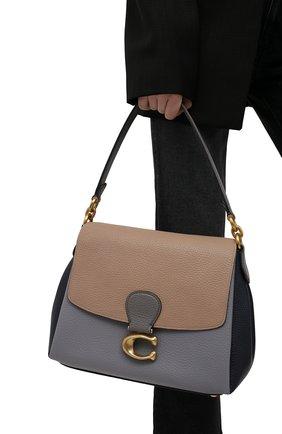 Женская сумка may COACH серого цвета, арт. 4613   Фото 2