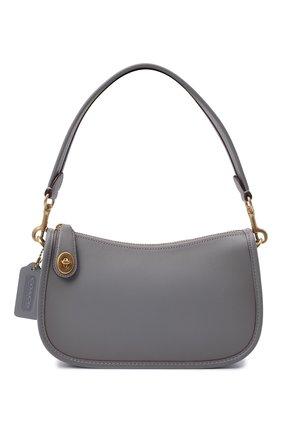 Женская сумка swinger COACH серого цвета, арт. C0638   Фото 1