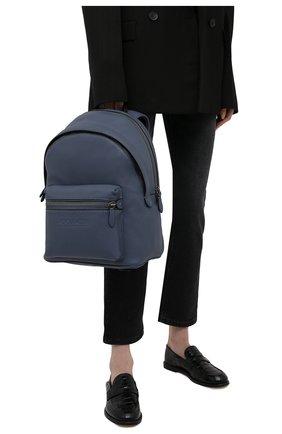 Женский рюкзак charter COACH синего цвета, арт. C2286   Фото 2