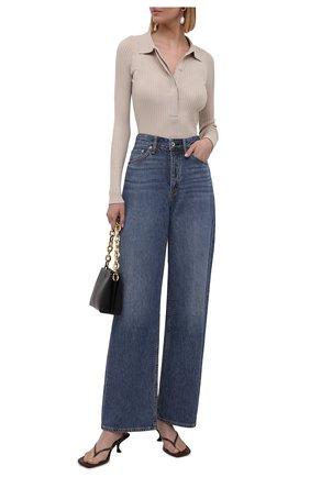 Женские джинсы RAG&BONE синего цвета, арт. WDD21P2786KSML | Фото 2