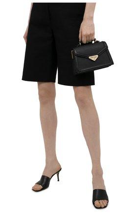 Женская сумка grace small MICHAEL MICHAEL KORS черного цвета, арт. 32T1GGHC2L | Фото 2