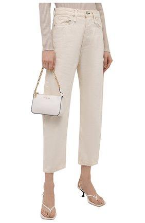 Женская сумка pouches MICHAEL MICHAEL KORS белого цвета, арт. 32F7GFDW6L | Фото 2