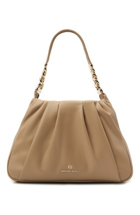 Женская сумка hannah medium MICHAEL MICHAEL KORS бежевого цвета, арт. 30T1LNNL2U | Фото 1