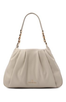 Женская сумка hannah medium MICHAEL MICHAEL KORS светло-бежевого цвета, арт. 30T1GNNL2U | Фото 1