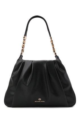 Женская сумка hannah medium MICHAEL MICHAEL KORS черного цвета, арт. 30T1GNNL2U | Фото 1