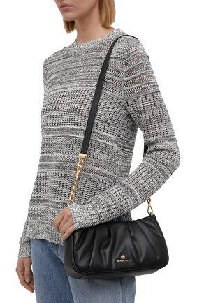 Женская сумка hannah small MICHAEL MICHAEL KORS черного цвета, арт. 30T1GNNC1U | Фото 2