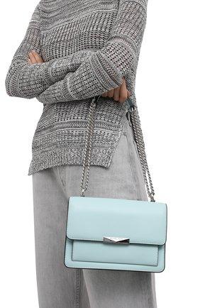 Женская сумка jade MICHAEL MICHAEL KORS голубого цвета, арт. 30S9SJ4L9L | Фото 2