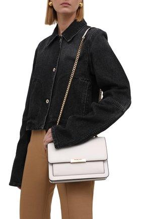 Женская сумка jade large MICHAEL MICHAEL KORS белого цвета, арт. 30S9GJ4L9L | Фото 2