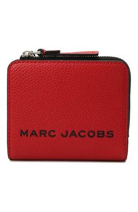 Женские кожаное портмоне the bold mini MARC JACOBS (THE) красного цвета, арт. M0017140   Фото 1