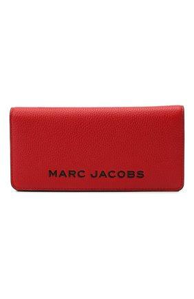 Женские кожаный кошелёк the bold MARC JACOBS (THE) красного цвета, арт. M0017142   Фото 1