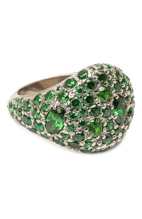 Женское кольцо darina LEVASHOVAELAGINA зеленого цвета, арт. le/r | Фото 1