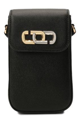 Кожаный чехол для iphone MARC JACOBS (THE) черного цвета, арт. S118L01PF21   Фото 1