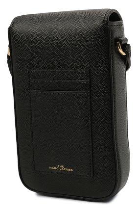 Кожаный чехол для iphone MARC JACOBS (THE) черного цвета, арт. S118L01PF21   Фото 2