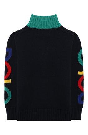 Детский хлопковый свитер POLO RALPH LAUREN разноцветного цвета, арт. 323846212 | Фото 2