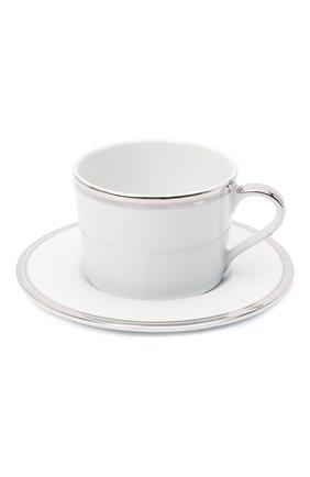 Чайная чашка с блюдцем RALPH LAUREN белого цвета, арт. 680681656 | Фото 1