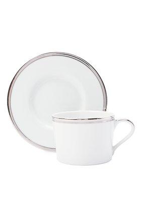 Чайная чашка с блюдцем RALPH LAUREN белого цвета, арт. 680681656 | Фото 2