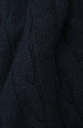 Кашемировый плед RALPH LAUREN темно-синего цвета, арт. 650194528 | Фото 2