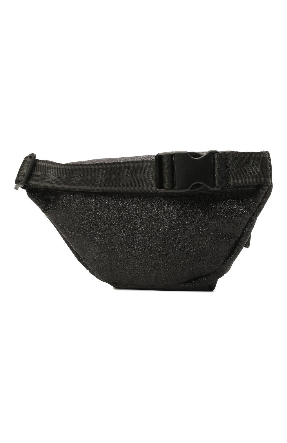 Детская поясная сумка CHIARA FERRAGNI черного цвета, арт. 21PE-CFBB015   Фото 2