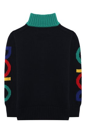 Детский хлопковый свитер POLO RALPH LAUREN разноцветного цвета, арт. 321846212 | Фото 2