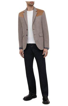 Мужской пиджак из шерсти и вискозы DSQUARED2 разноцветного цвета, арт. S74BN1083/S54011 | Фото 2