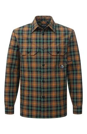Мужская хлопковая рубашка DIESEL разноцветного цвета, арт. A02685/0HCAT | Фото 1