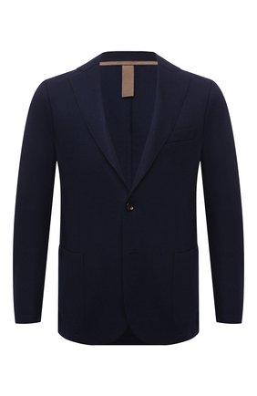 Мужской шерстяной пиджак ELEVENTY темно-синего цвета, арт. D70GIAC08 JAC24018 | Фото 1