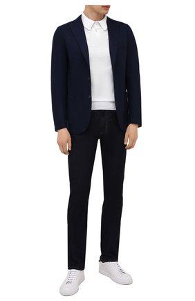 Мужской шерстяной пиджак ELEVENTY темно-синего цвета, арт. D70GIAC08 JAC24018 | Фото 2