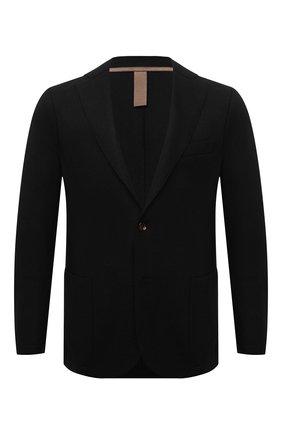 Мужской шерстяной пиджак ELEVENTY черного цвета, арт. D70GIAC08 JAC24018 | Фото 1